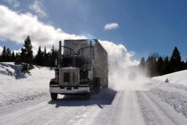 Winter safety tips for truck drivers reanimators